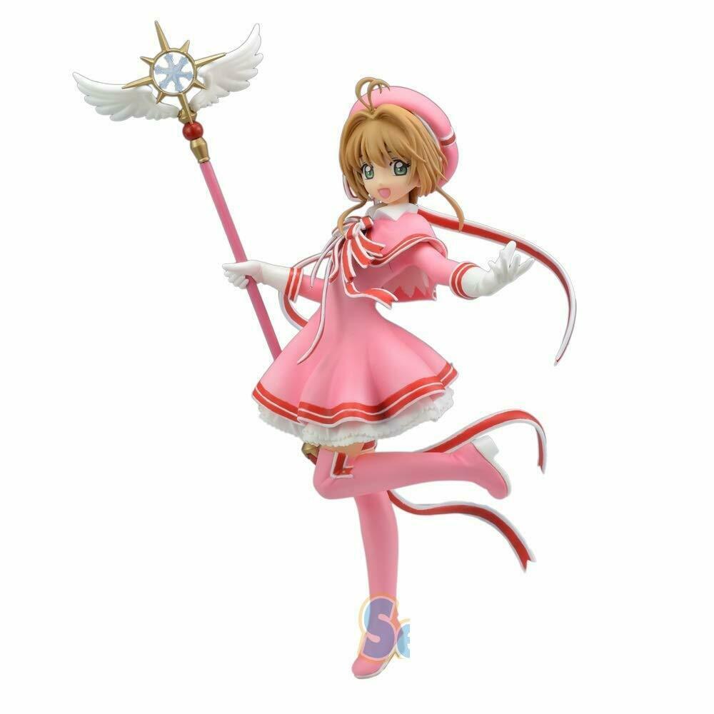 Sakura Kinomoto, Clear Card Figure, Cardcaptor Sakura, Sega
