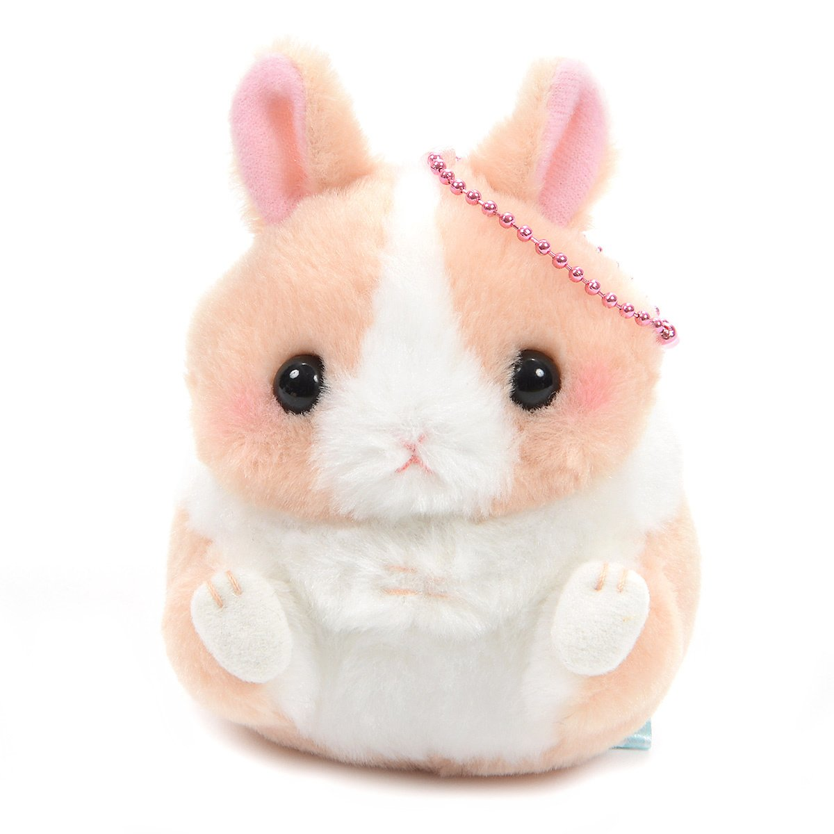 Plush Hamster, Amuse, Coroham Coron, Chibi-pyon, Mix White, 4 Inches