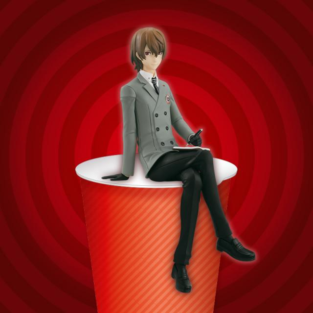Goro Akechi Figure, Noodle Stopper, Persona 5, The Royal, Furyu