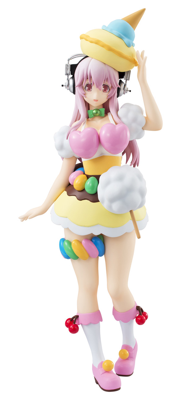 Super Sonico Figure, The Animation, A Prize, Stage Costume Design ver., Furyu