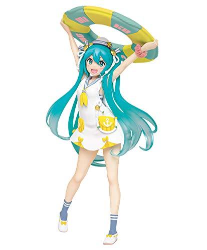 Hatsune Miku Figure, Yellow ver. Origial Summer Clothes, Renewal, Vocaloid Taito