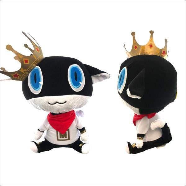 Morgana Plush Doll, Persona 5, Dancing Star Night, Anime Expo 2019 AX, Big Size, 13 Inches, Atlus, Sega
