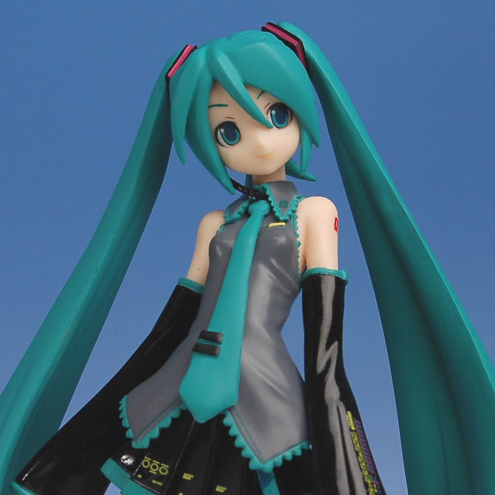 Hatsune Miku, EX Figure, Vocaloid, Sega