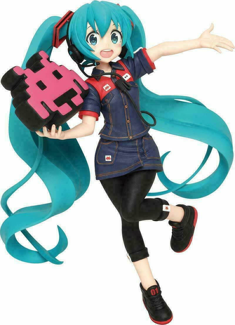 Hatsune Miku Figure, Game Station, Vol. 2, Vocaloid, Taito