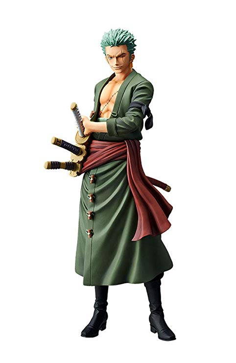 Roronoa Zoro Figure, Grandista Series, One Piece, Banpresto