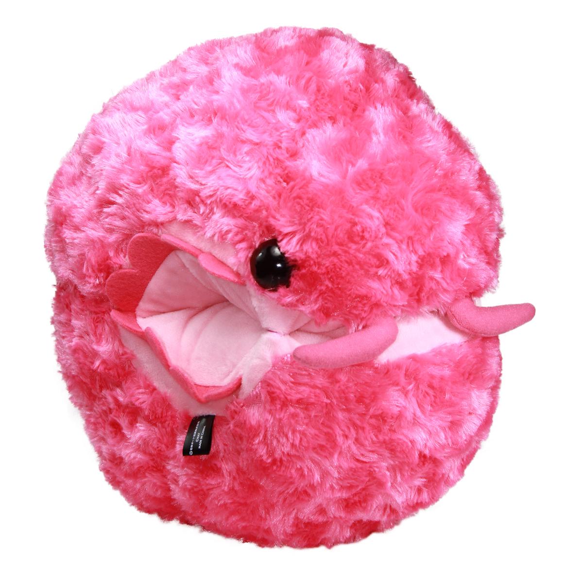 Dangomushi Super Soft Larva Roly Poly Plush Toy Pink Size 13 Inches