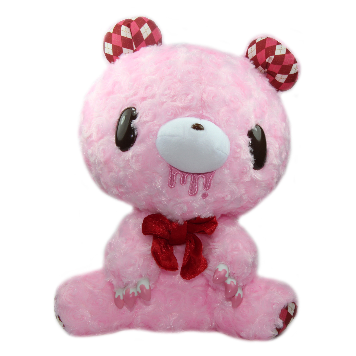 Taito Argyle Gloomy Bear Plush Doll Pink GP #519 12 Inches