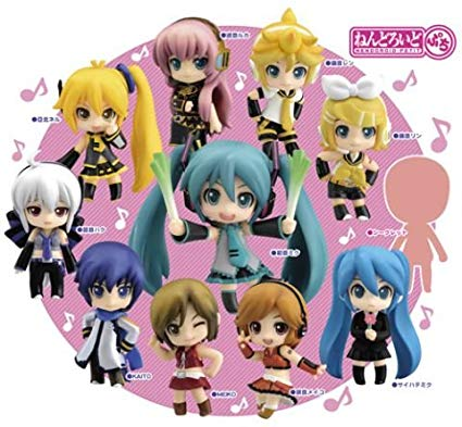 Vocaloid Nendoroid Petit Trading Figure Anime Random Blind Box