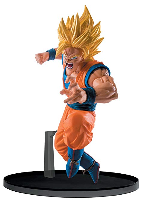 Banpresto Dragon Ball Super 5.1 Super Saiyan 2 Goku Figure, SCultures Big Budoukai 6, Volume 4
