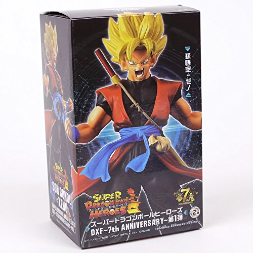 Dragon Ball Super Heroes DXF 7th Anniversary Super Saiyan Son Goku Avatar PVC Figure