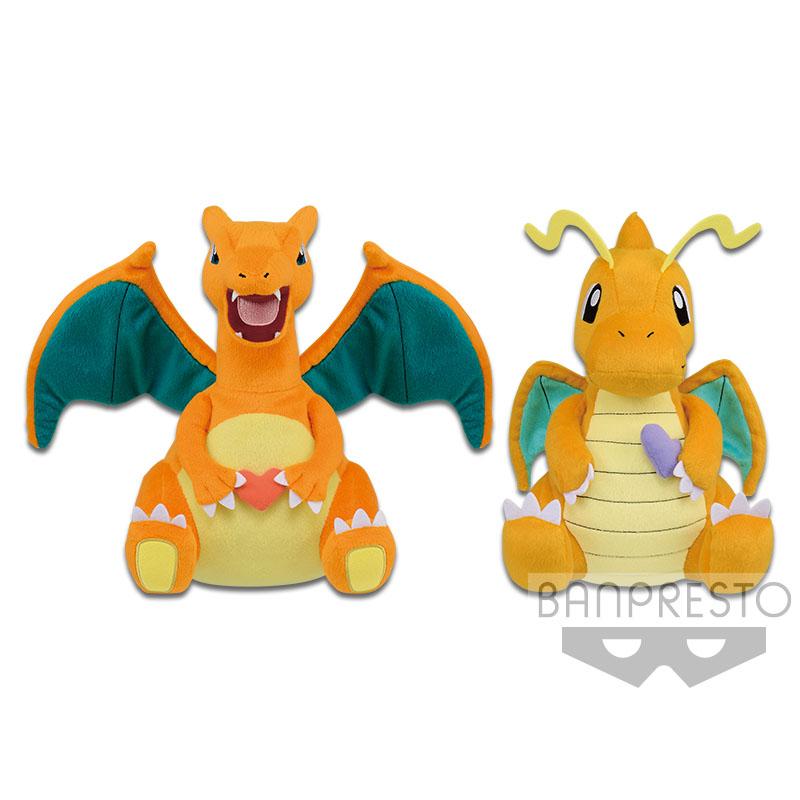 Pokemon Dragonite Plush Doll 10 Inches Bandai Spirits Banpresto