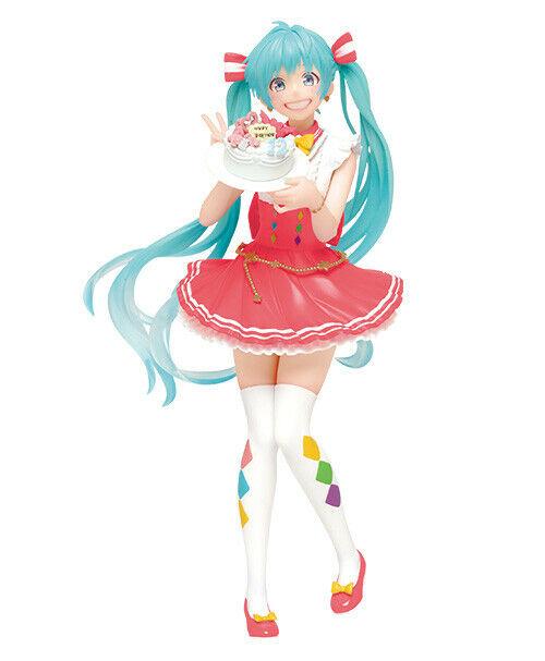 Hatsune Miku Figure, 2019 Limited Ver, Happy Birthday Cake, Vocaloid, Taito