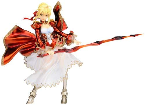 Red Saber Figure, 1/8 Scale Painted Figure, Fate / Extra, Gift