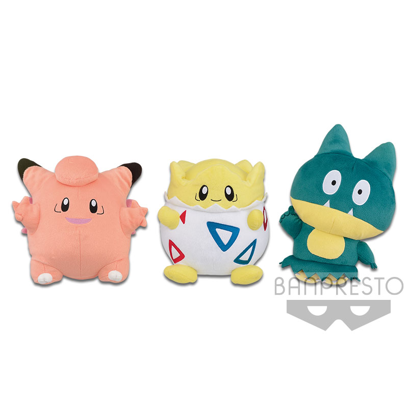 Munchlax Plush Doll, Pokemon Bandai Spirits, Plush, 10 Inches, Banpresto