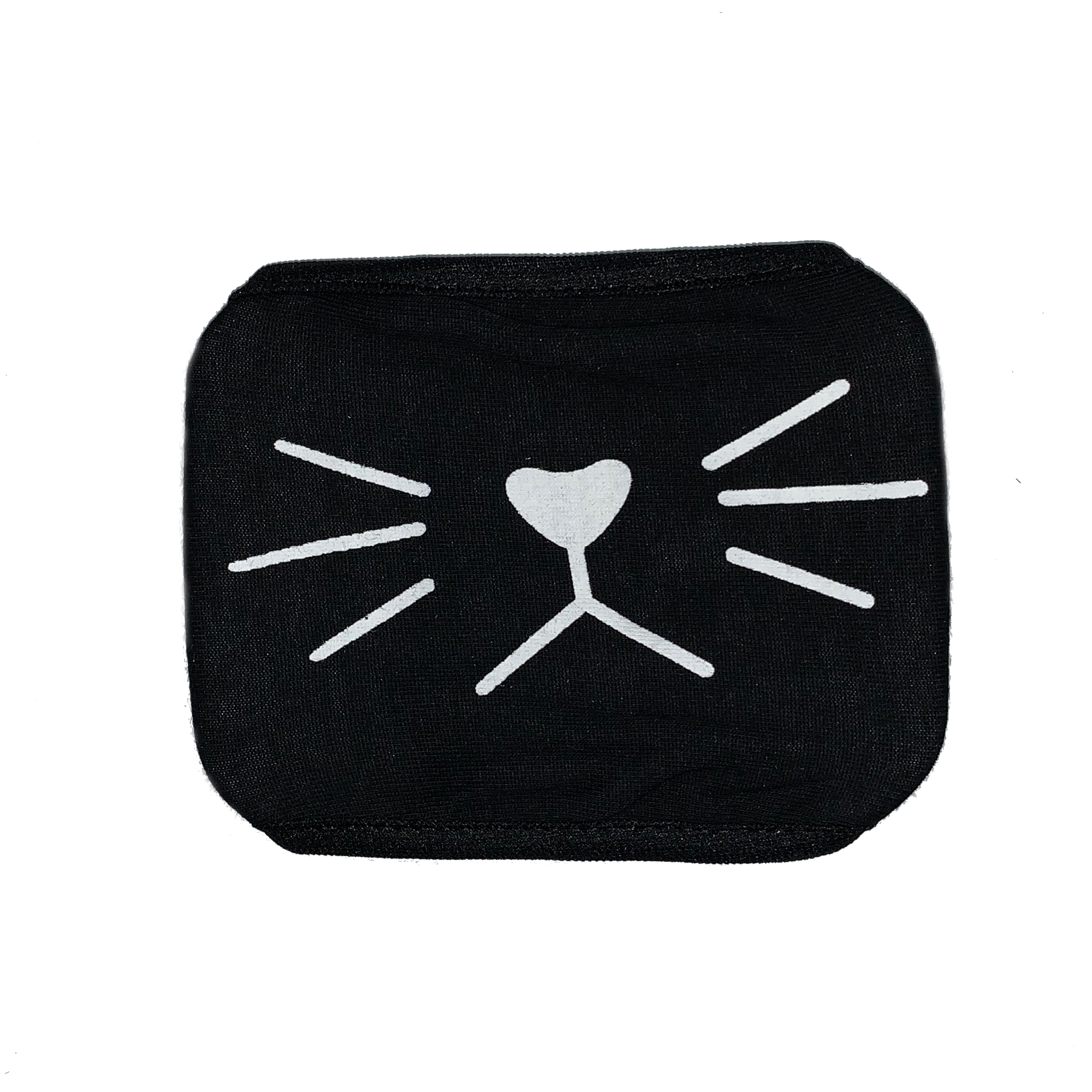 Cosplay Mask Face Mouth Mask Anime Cat Smile Black One Size Fits Most