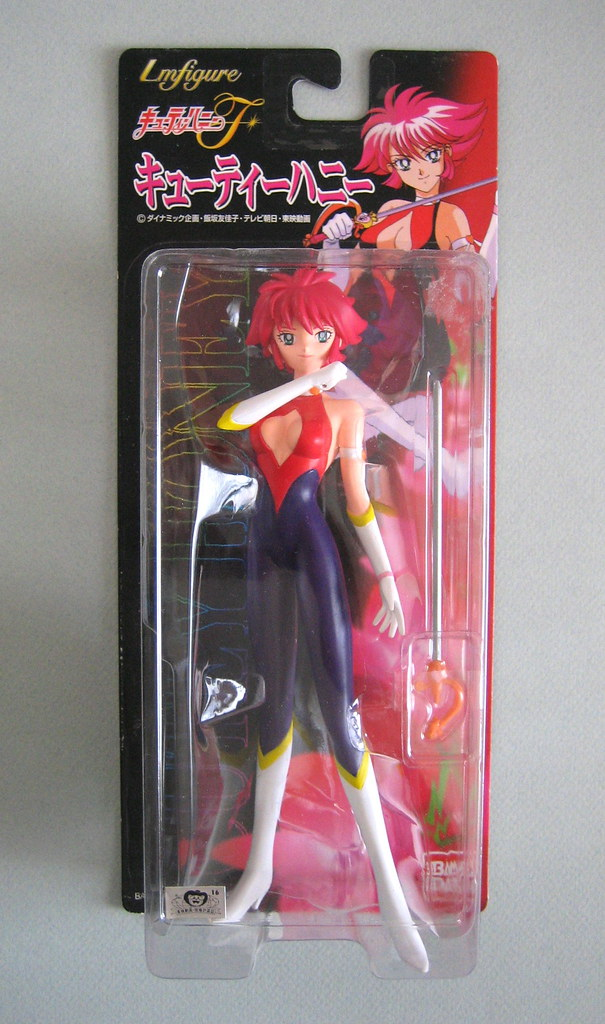 Cutie Honey Figure, Cutie Honey, Bandai