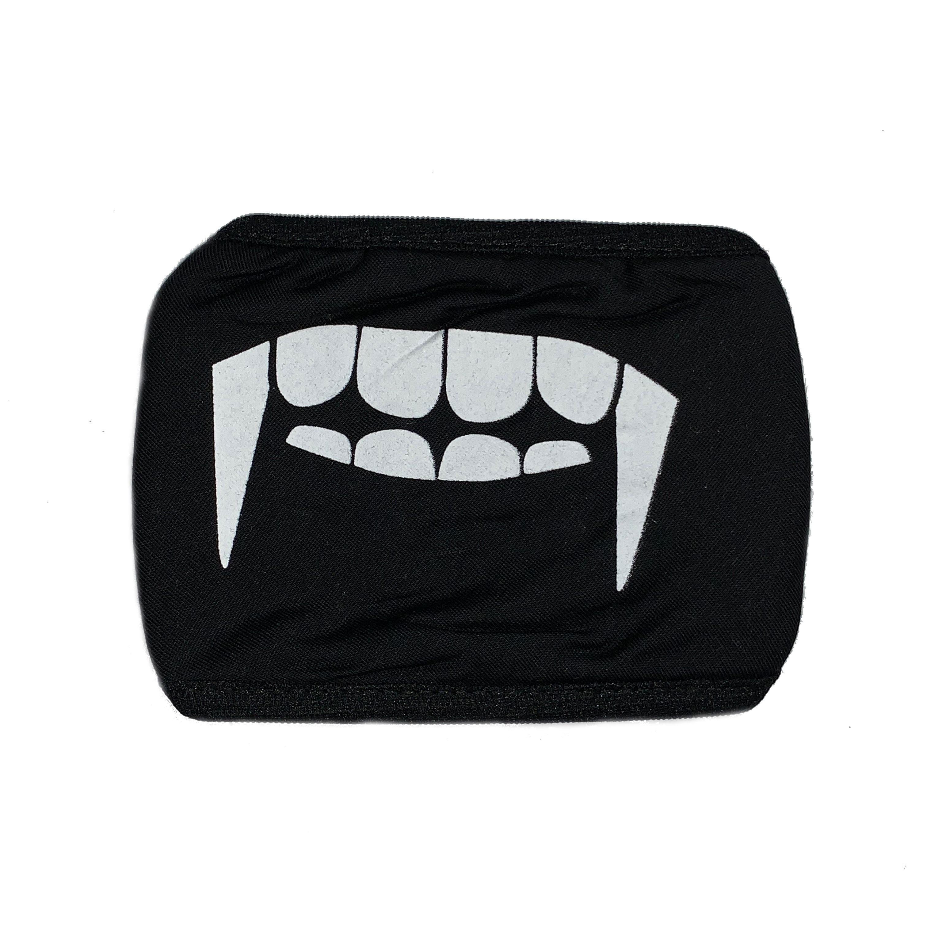 Cosplay Mask Face Mouth Mask Anime Vampire Black One Size Fits Most