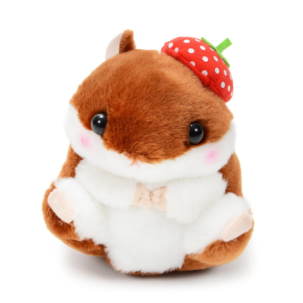Plush Hamster, Amuse, Coroham Coron, Ichigo Hamster Plush Collection Chocoron, Brown, 5 Inches
