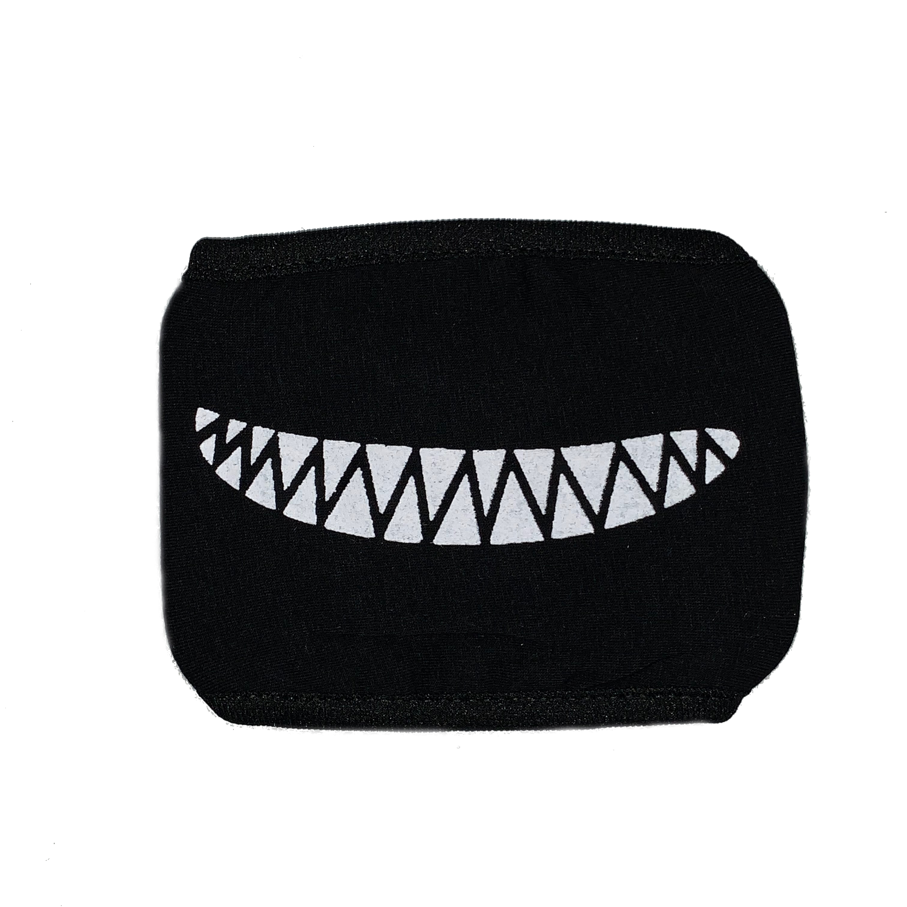 Cosplay Mask Face Mouth Mask Anime Smile Black One Size Fits Most