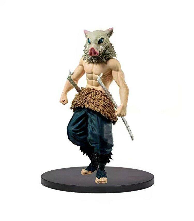 Inosuke Hashibira Figure, Demon Slayer, Kimetsu no Yaiba, Bandai Spirits, Banpresto