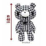 Taito Textillic IV Gloomy Bear Plush Doll Black White GP #526 17 Inches