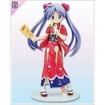 Kagami Hiiragi, Red Kimono Ver., B Prize, High Grade Figure, Lucky Star, Sega