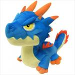 Monster Hunter World Lagiacrus Plush Doll 7 Inches