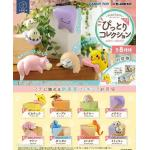Pokemon Fuchipito Fuchi Ni Pittori Collection Random Figure Blind Box Re-Ment